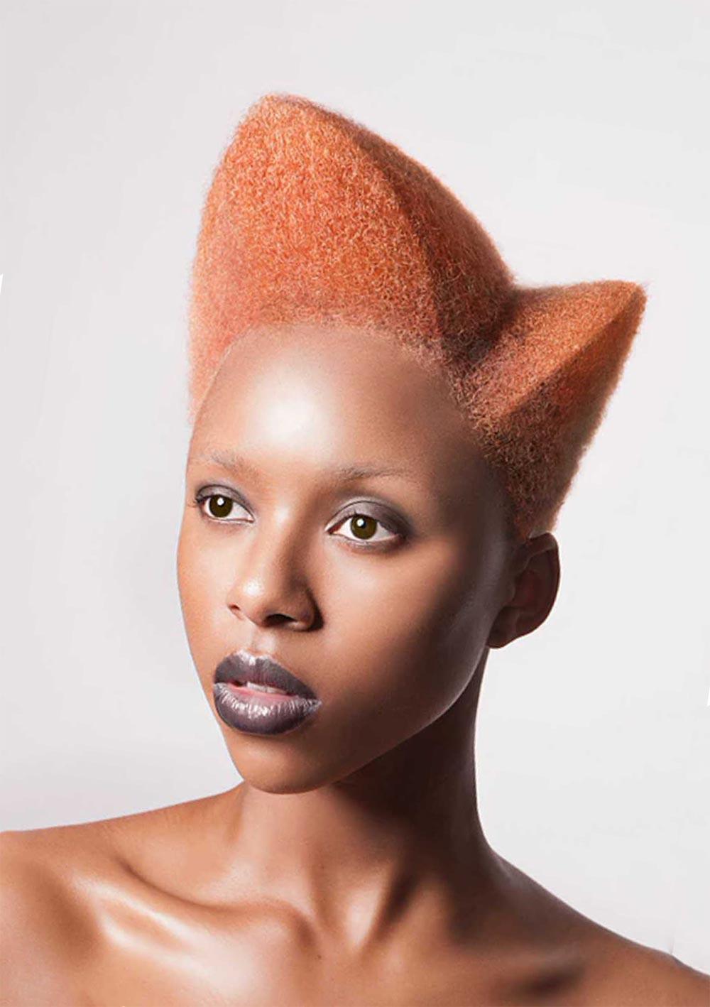Lisa Farrall Лиза Фаррел: Amour - невероятная коллекция афропричесок