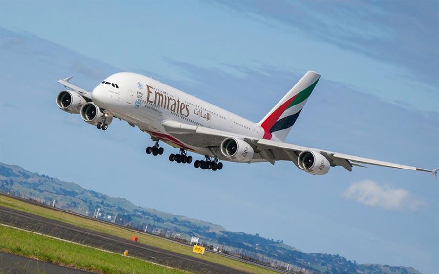 длинные авиарейсы в мире Emirates