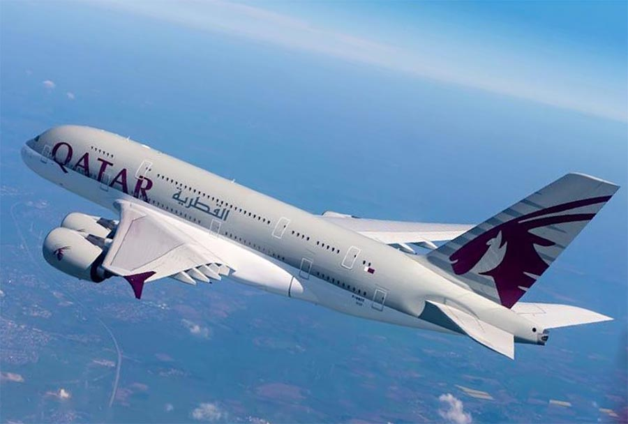 длинные авиарейсы в мире Qatar Airways