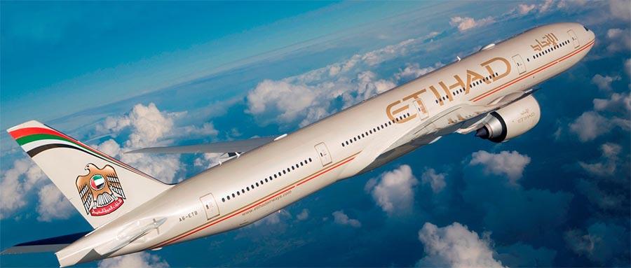 длинные авиарейсы в мире Etihad Airways