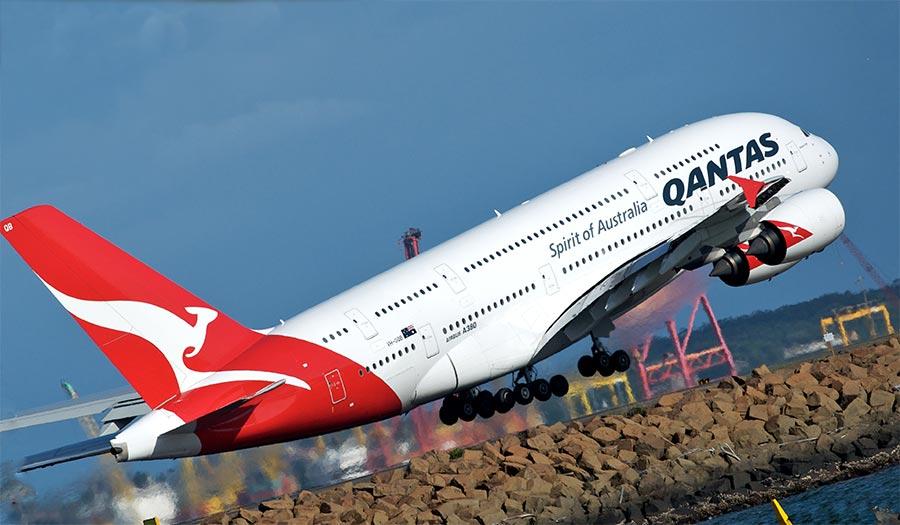 длинные авиарейсы в мире Qantas