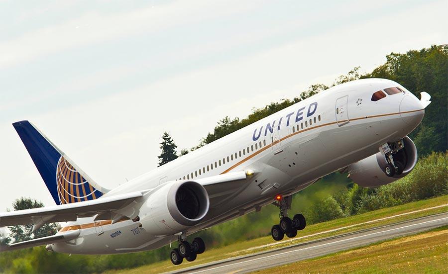 длинные авиарейсы в мире United Airlines