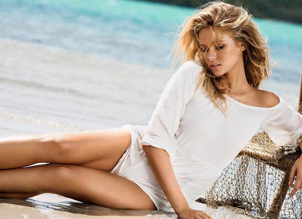 модель блонди Лада Кравченко