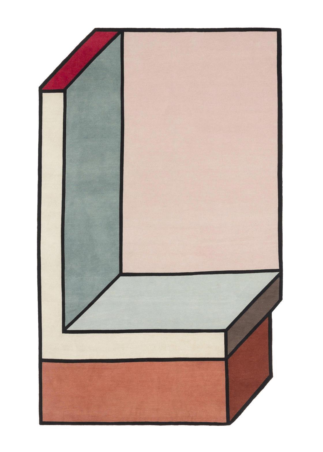 Patricia Urquiola оптические иллюзии на коврах