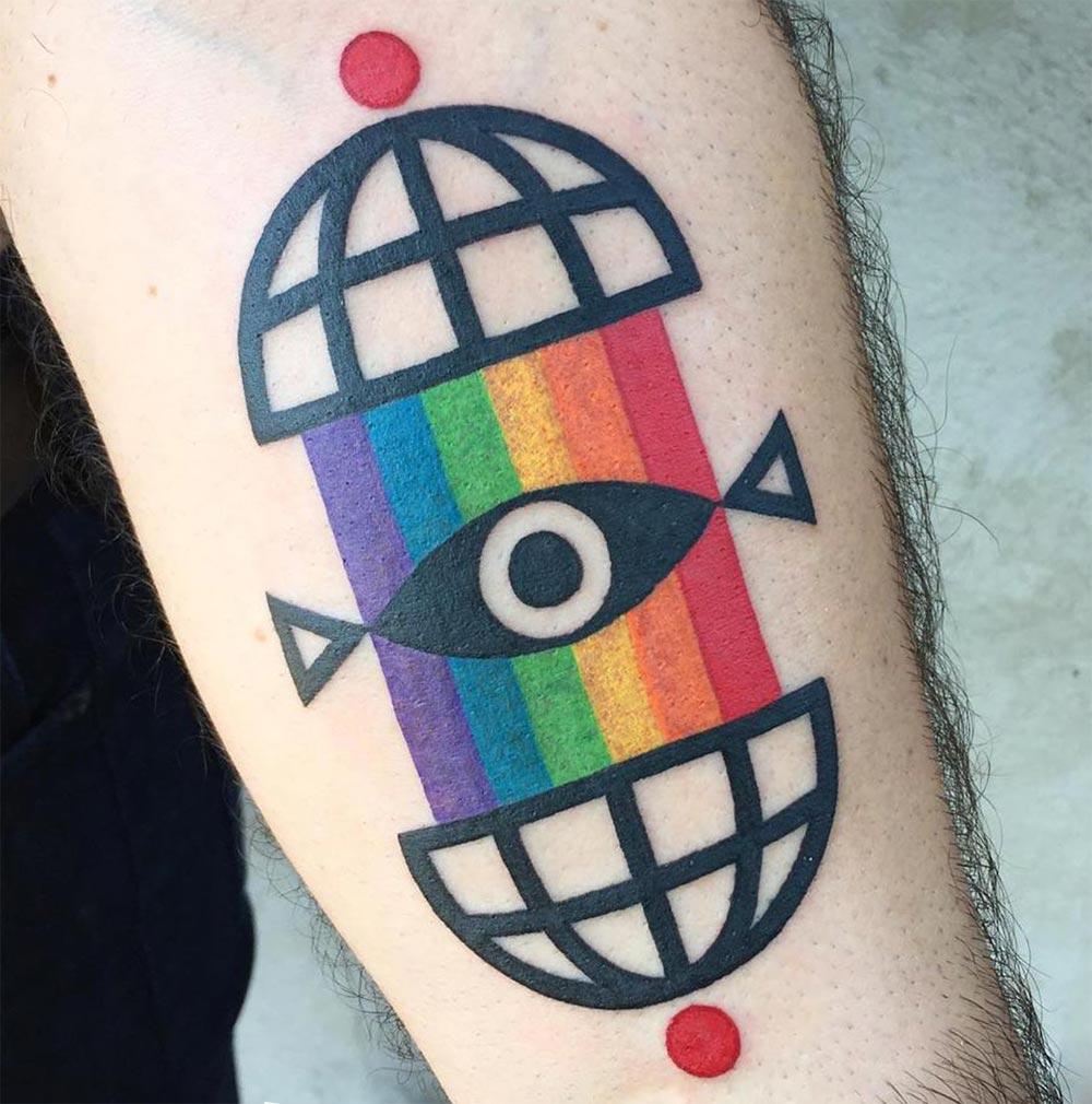 Winston The Whale Старинные и красочные татуировки