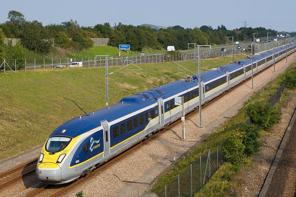 самые быстрые поезда мира Евростар е320