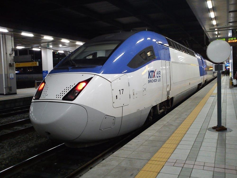 самые быстрые поезда мира КейТиИкс-Санчеон