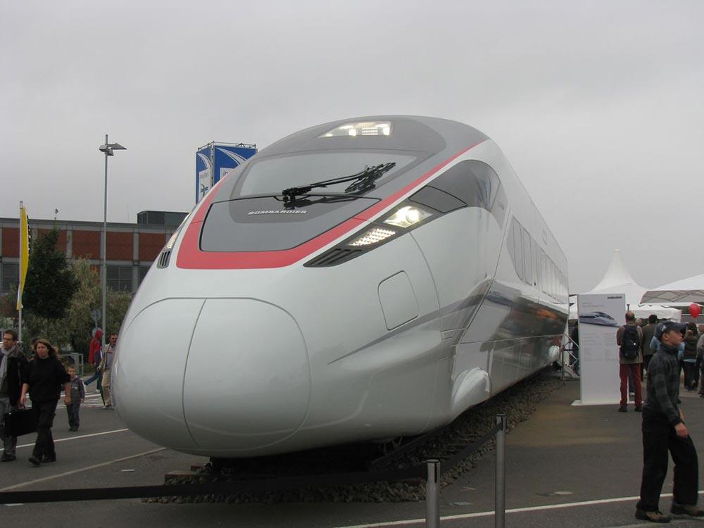 самые быстрые поезда мира Зефиро 380