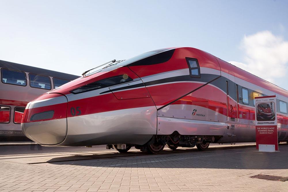 самые быстрые поезда мира Фрекьяросса 1000
