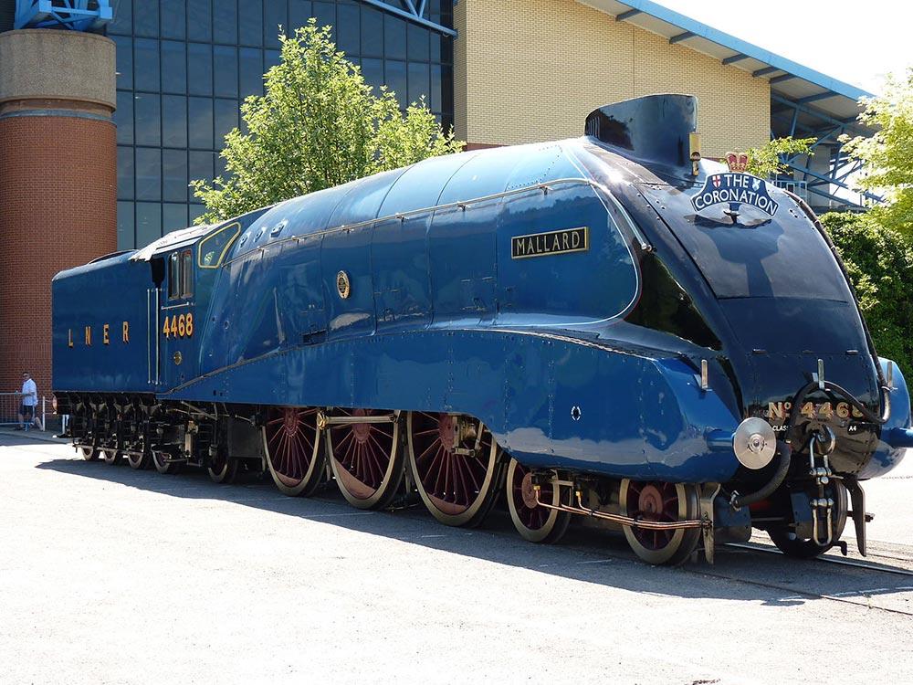 самые быстрые поезда мир Маллaрд 4468