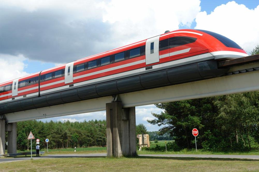 самые быстрые поезда мира Трансрапид 09