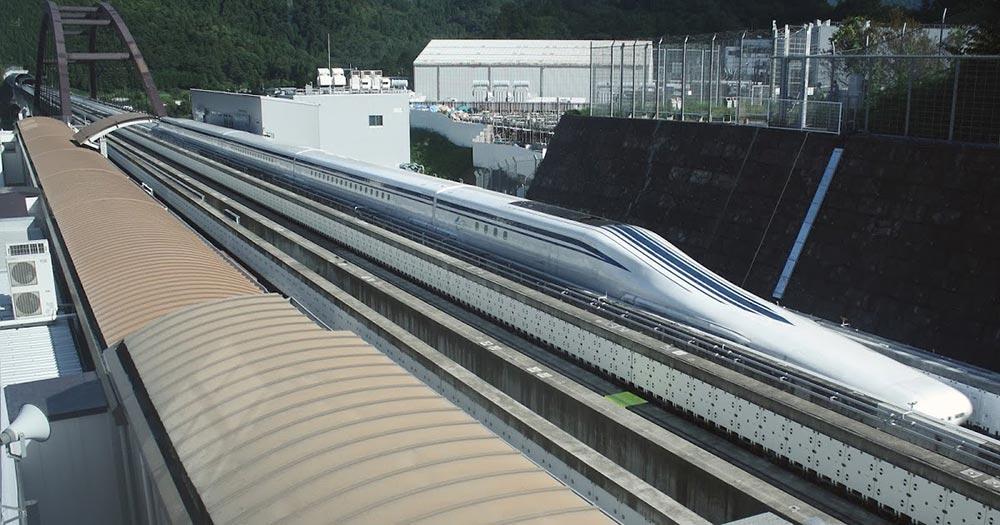 самые быстрые поезда мира ЭсСи МагЛев серии Л-0