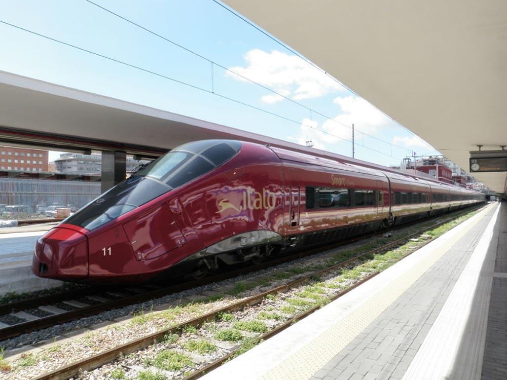 самые быстрые поезда мира АГВ Итало