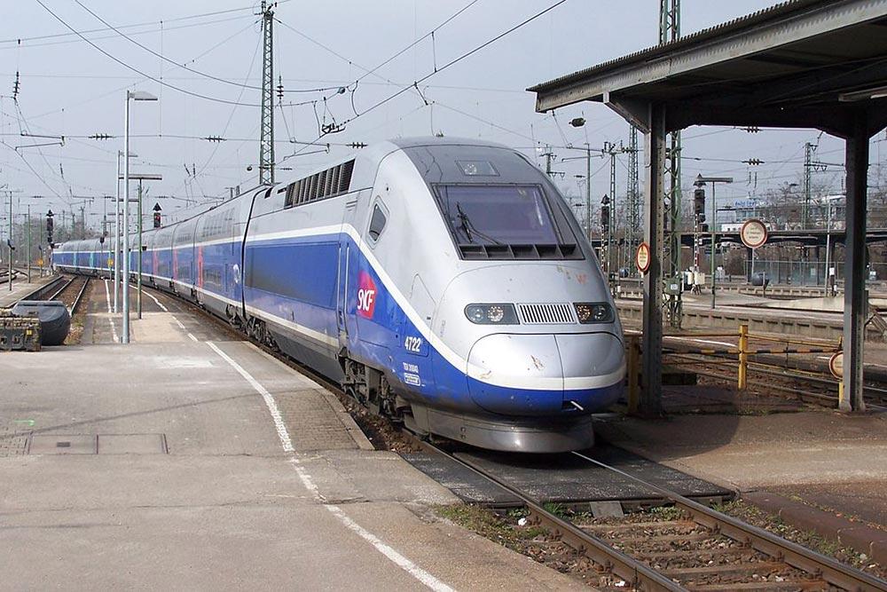 самые быстрые поезда мира Альстром Евродуплекс