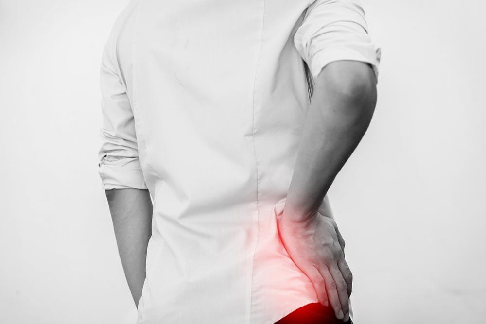 проблемы с артериями Боль в нижней части спины