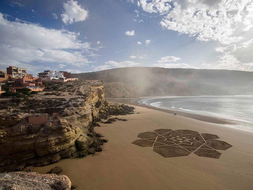 Sam Dougados Сэм Дугадо рисунки на песке