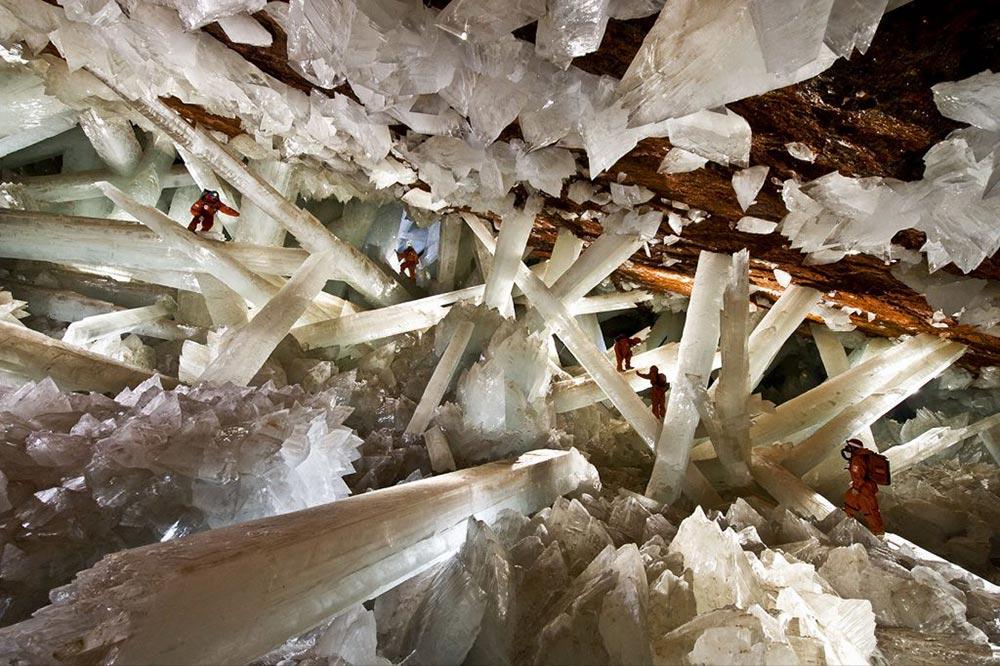 подземные чудеса Пещера кристаллов