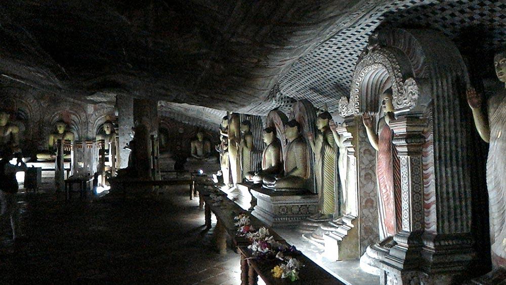 подземные чудеса Дамбулла
