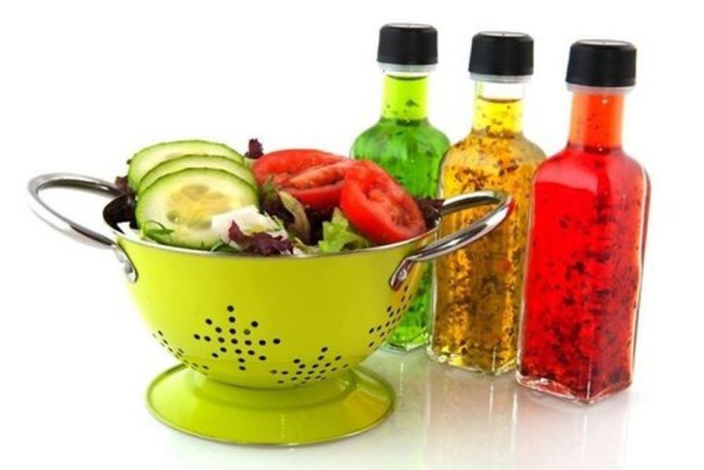 опасные продукты Бутилированные заправки для салатов
