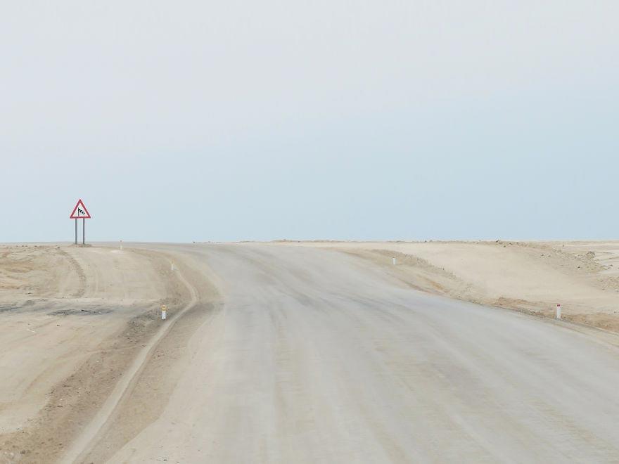 Helin Bereket дорожные знаки Намибии