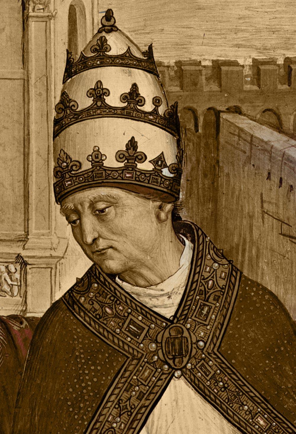 исторический факт эротическая новелла Папы Римского
