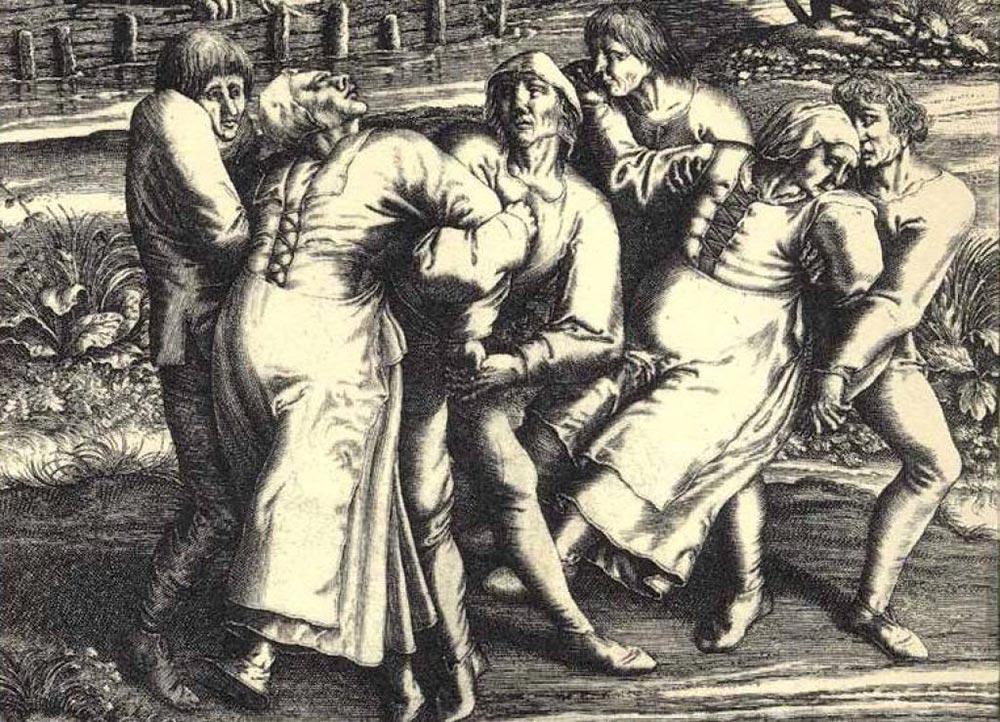 исторический факт Танцевальная чума в Страсбурге