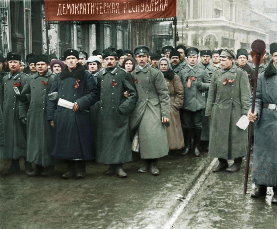 История России фото Русская революция февраль 1917 год