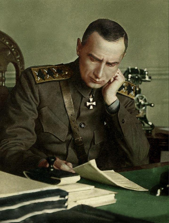 История России фото Адмирал Колчак 1918 год
