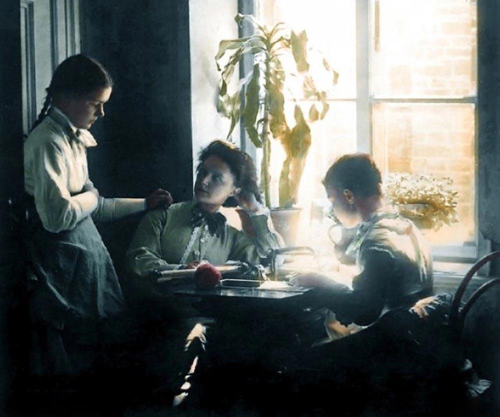 История России фото Семейный разговор