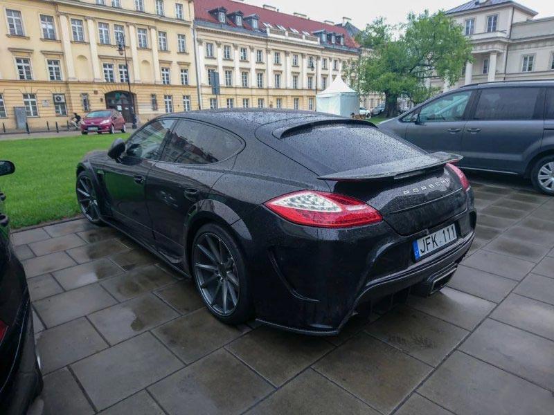 Porsche Panamera тюнинг Mansory C One