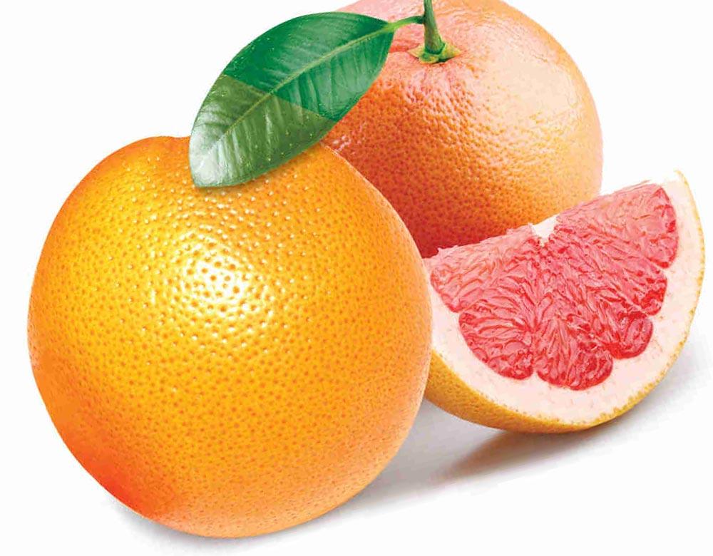 продукты избавят печень от токсинов Грейпфрут