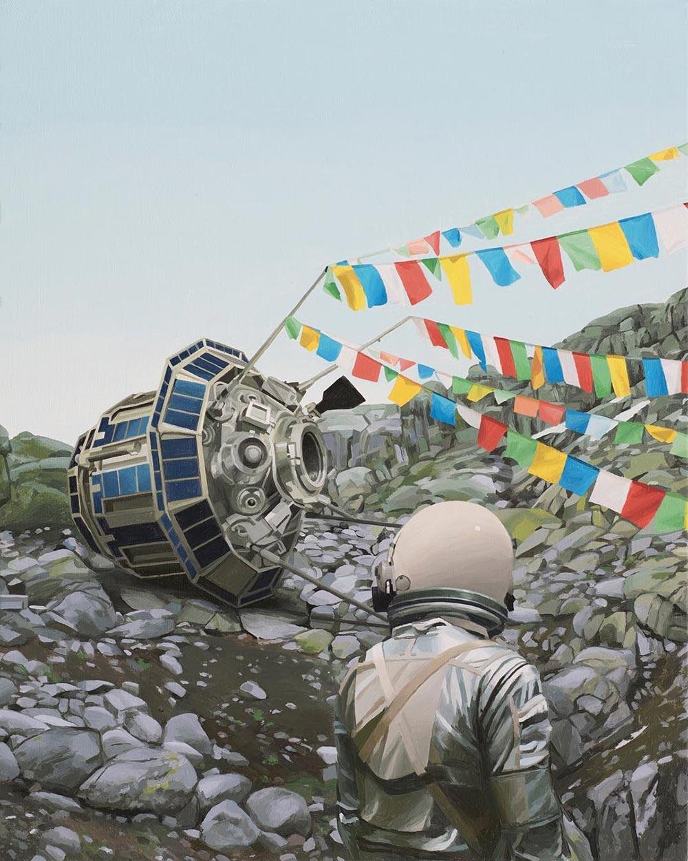 Художник Скотт Листфилд Scott Listfield сцены постапокалипсиса