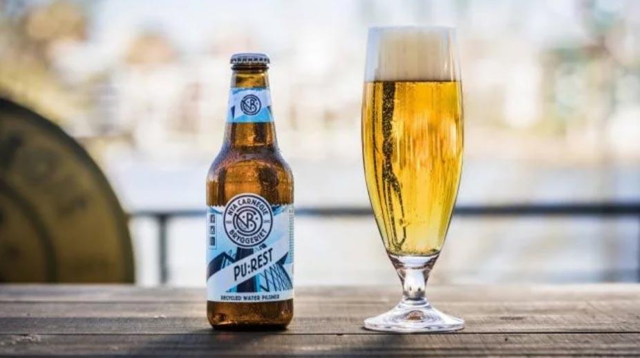 Carlsberg сварили первое пиво из сточных вод