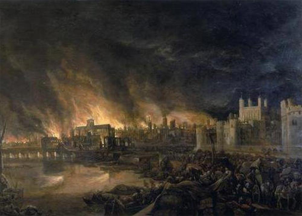 Конец света который так и не наступил Великий пожар Лондон