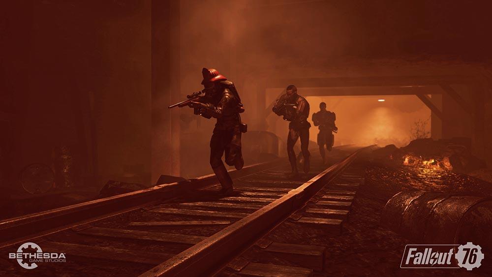 игра подробности о Fallout 76 мультиплеер