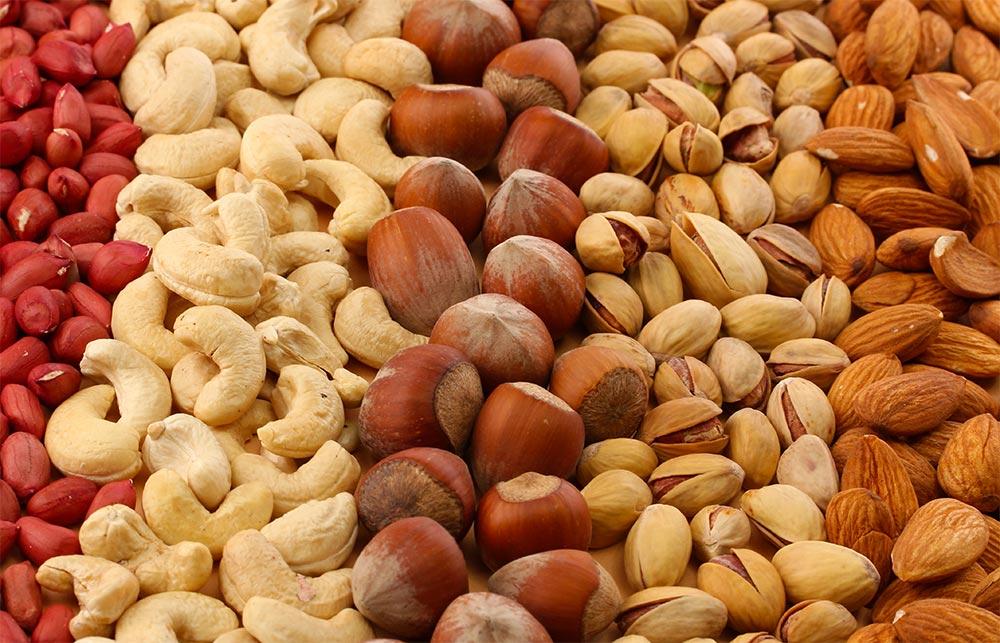 продукты можно хранить в морозилке Орехи