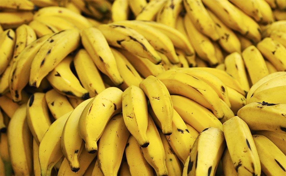 продукты можно хранить в морозилке Спелые бананы