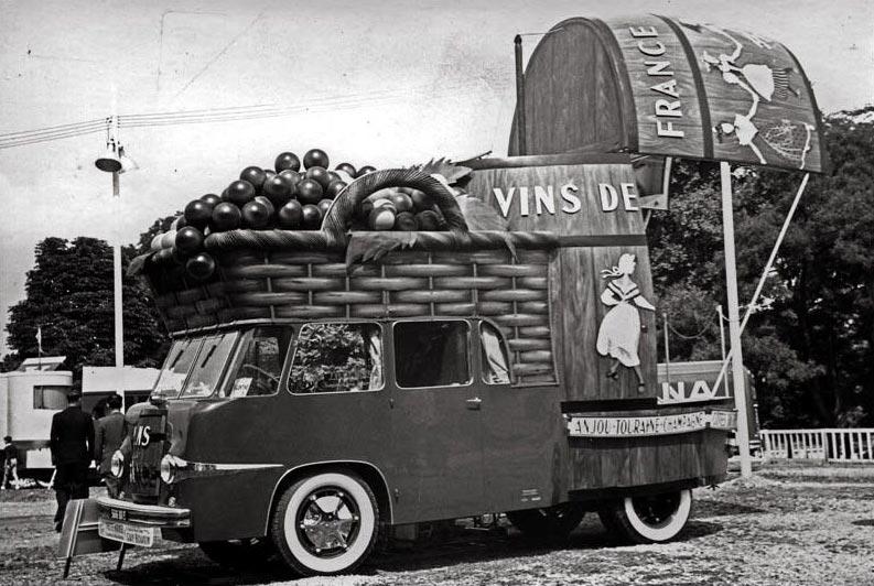 французские рекламные караваны