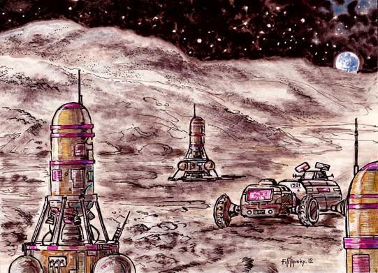 факты Луна военные базы