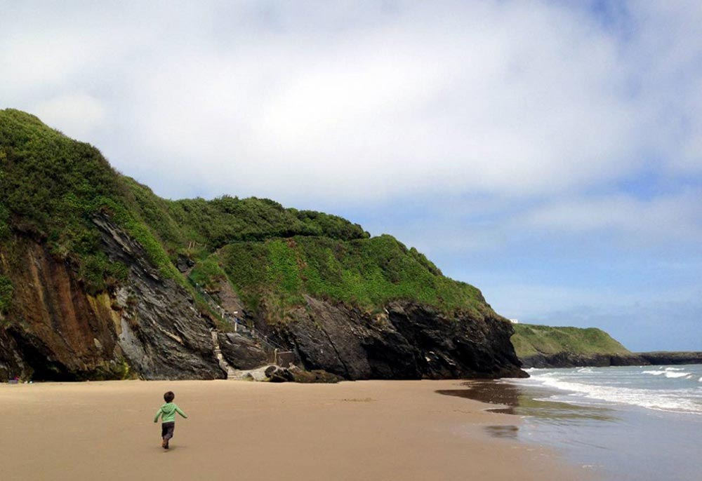 Ирландские пляжи близ Дублина