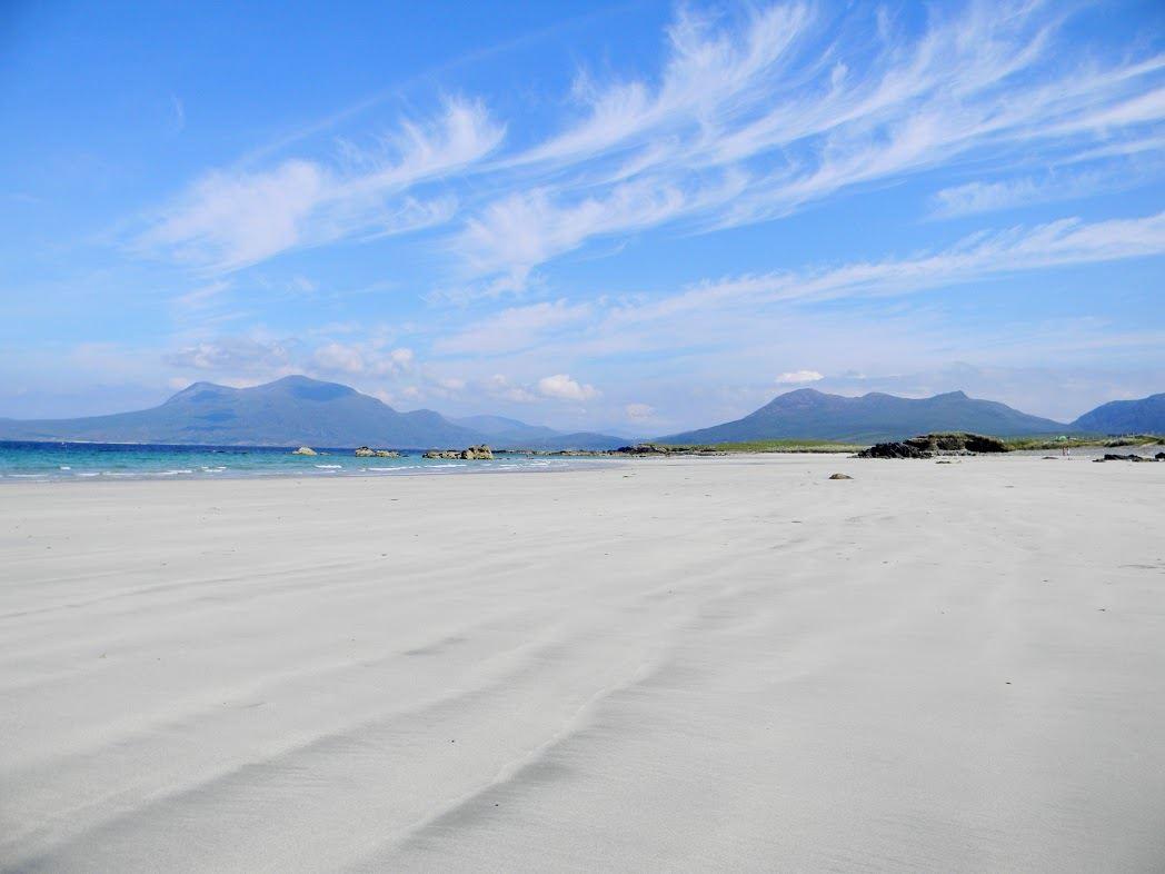Ирландские пляжи близ Дублина Графство Виклоу