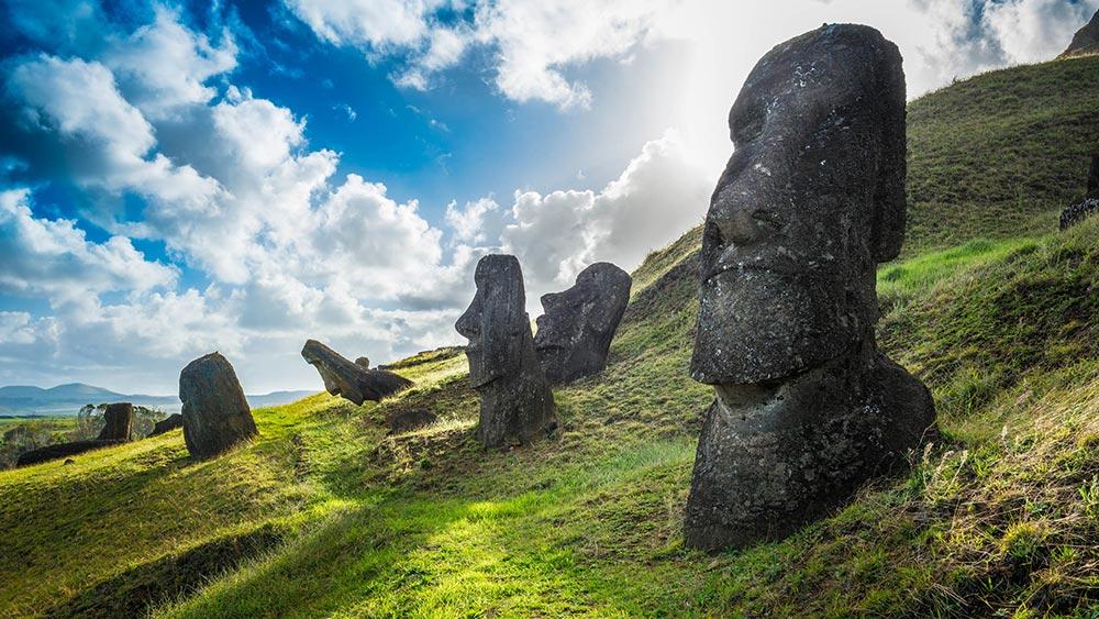 загадочные острова Остров Пасхи