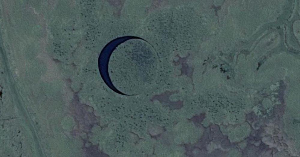 загадочные острова Плавучий остров-глаз