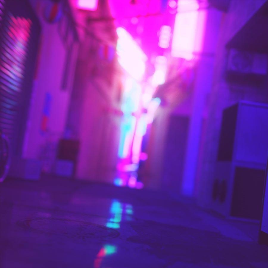 Ник Кемптон Nick Kempton цифровое неоновое искусство