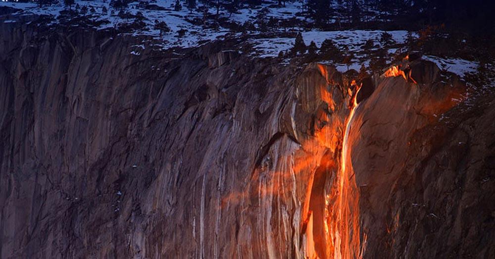 оптические явления в природе Огненный водопад Лошадиный хвост