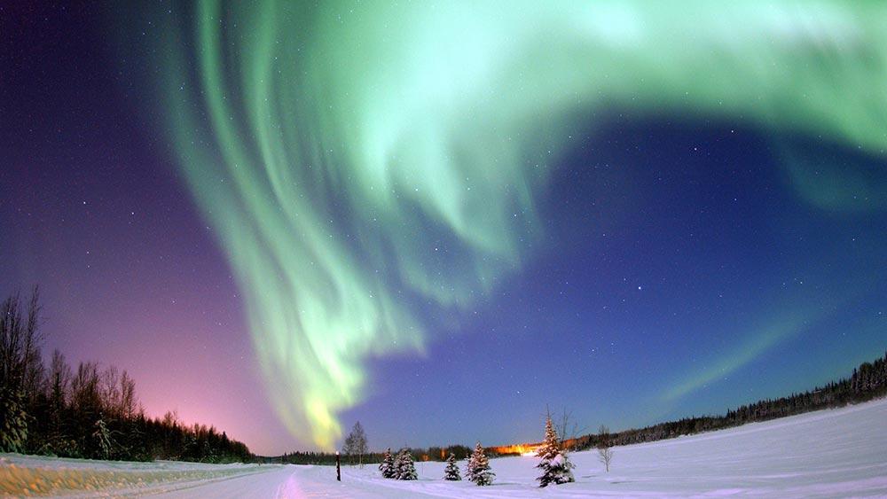 оптические явления в природе Северное сияние