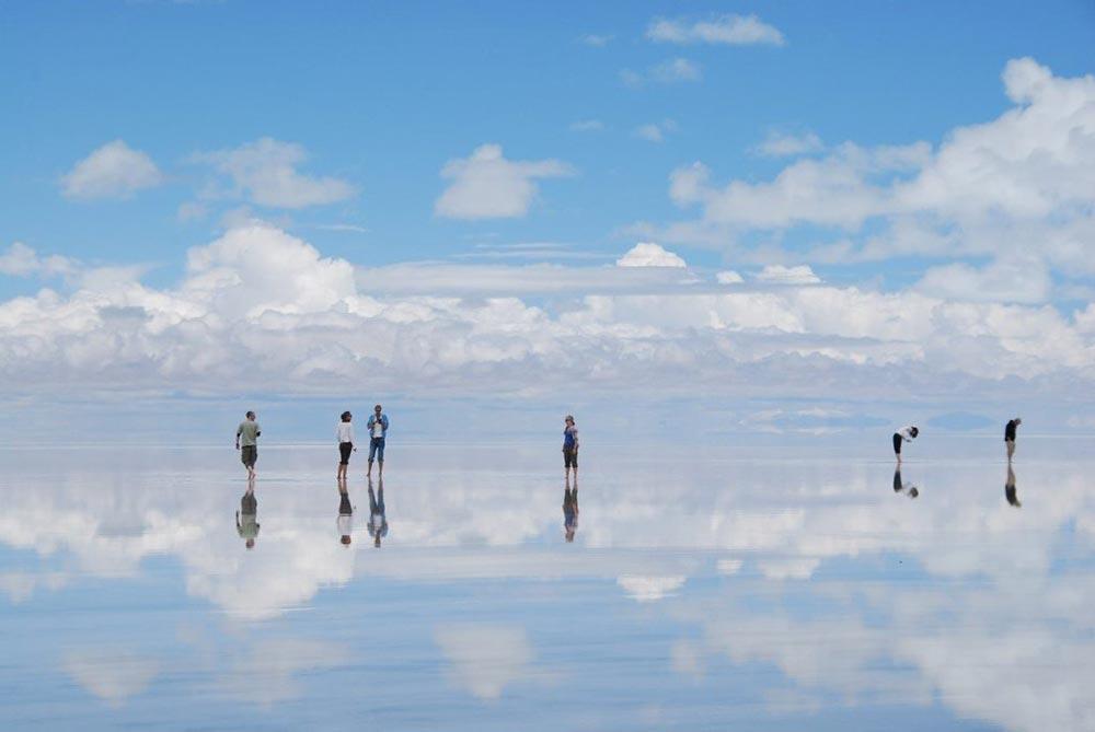 оптические явления в природе Соляные пустыни