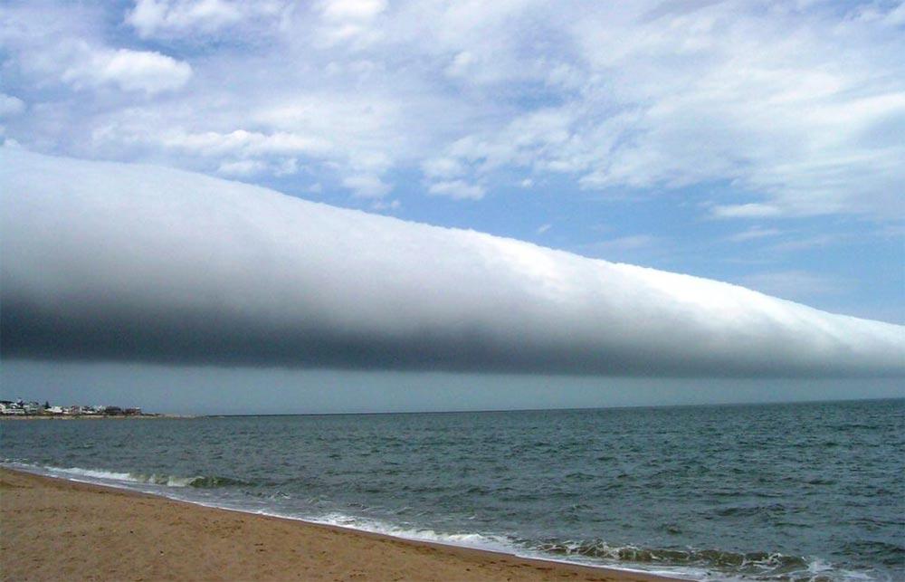 оптические явления в природе Облака с грозовым валом