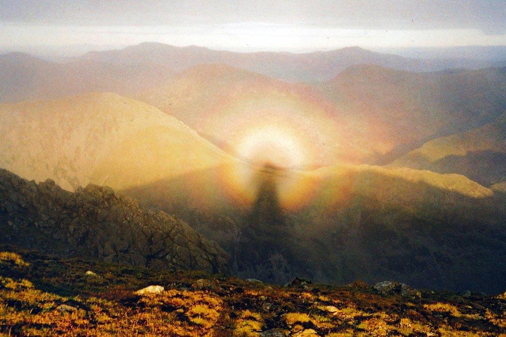 оптические явления в природе Брокенский призрак