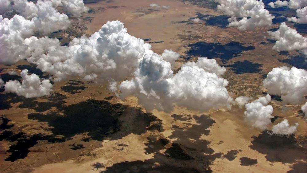 оптические явления в природе Тени облаков